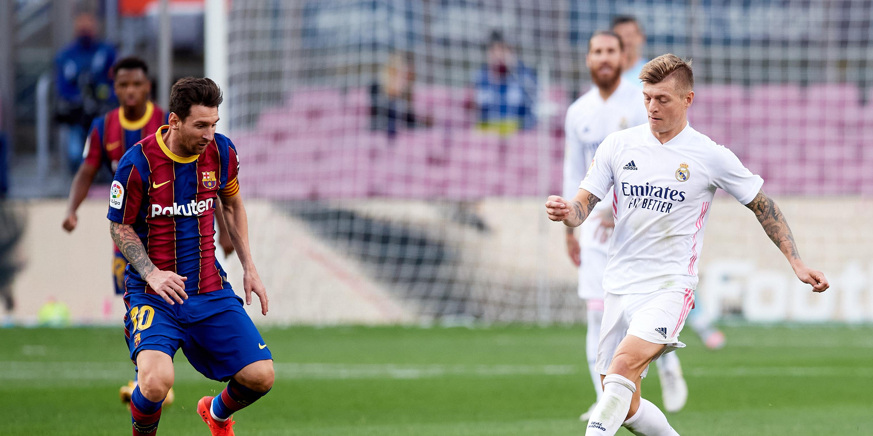 El Clásico: Messi und Kroos