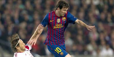 Barca dank Messi im Halbfinale