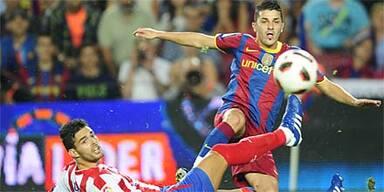 Barca siegt auch ohne Messi