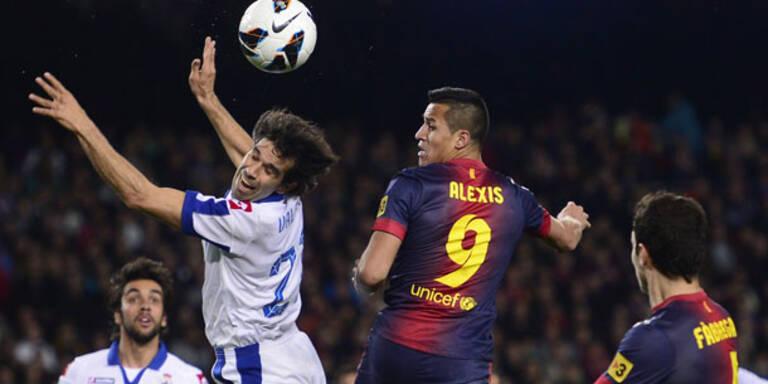 2:0 - Barca-Sieg gegen Letzten