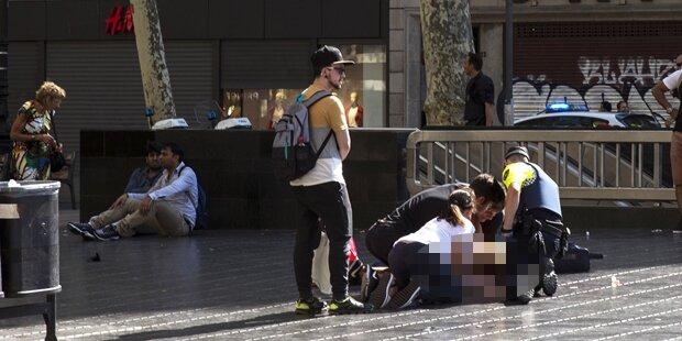 So erlebte oe24.TV-Mitarbeiterin Anschlag von Barcelona