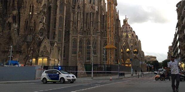 Sagrada Familia in Barcelona geräumt