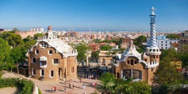 Barcelona ist auch im Winter schön
