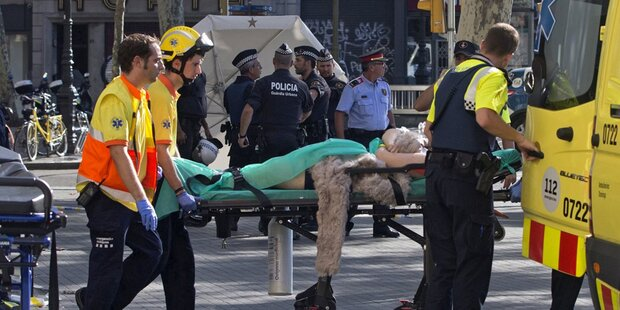 IS-Terror in Barcelona: Viele Tote