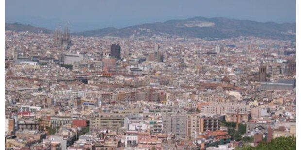 Drogen in der Luft von Spaniens Städten