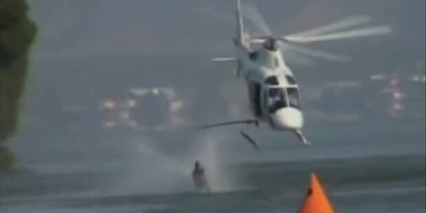 Barfuss-Wasserschifahr-Weltrekord gebrochen