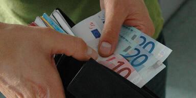 Bargeld in Geldbörse