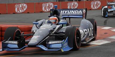 Barrichello bei Indy-Debüt Zehnter