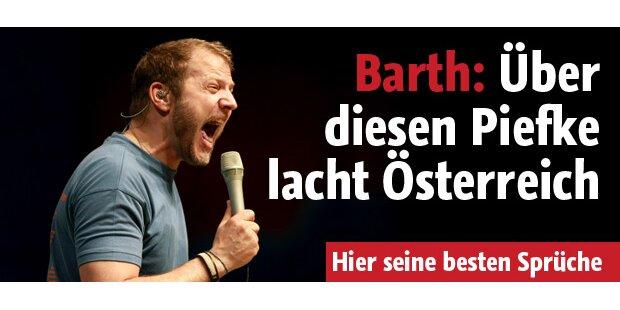 Über diesen Piefke lacht Österreich