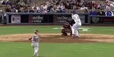 Massenschlägerei bei Dodgers vs Arizona