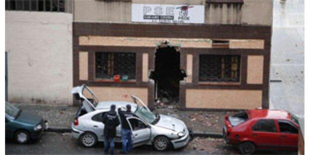 ETA bombt in Bilbao - 7 Polizisten verletzt
