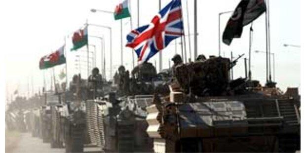 Briten beginnen mit Abzug aus Basra