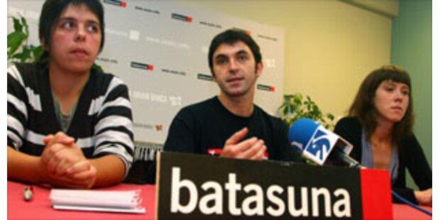 Basken-Partei sieht Festnahmen als Kriegserklärung