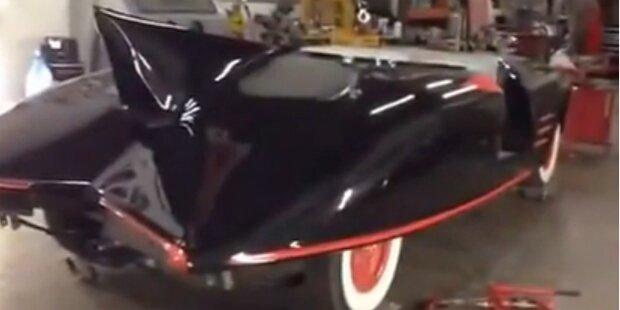 Ältestes Batmobil wird versteigert