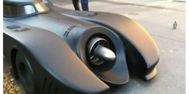 Batmobil macht Stockholm unsicher
