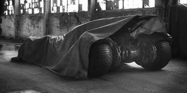 Hier sehen wir das nächste Batmobil