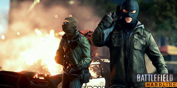 Battlefield Hardline: Spektakulärer Trailer