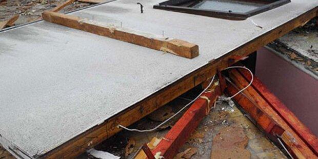 Arbeiter eingeklemmt: Tod auf Baustelle