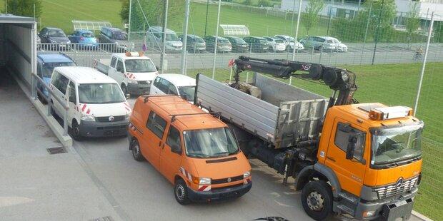 Abverkauf von Altfahrzeugen & Geräten