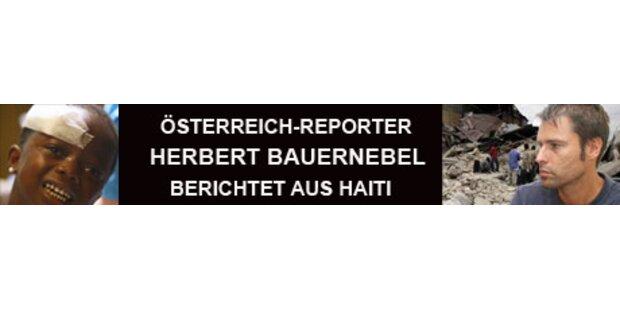 Österreicherin rettet Haiti-Opfer