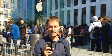 """iPhone 6: """"Ich stand 9 Stunden an"""""""
