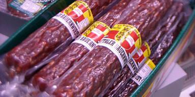 Pferdefleisch in Kärntner Wurst