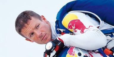 Baumgartner sprang aus 21.000 Metern