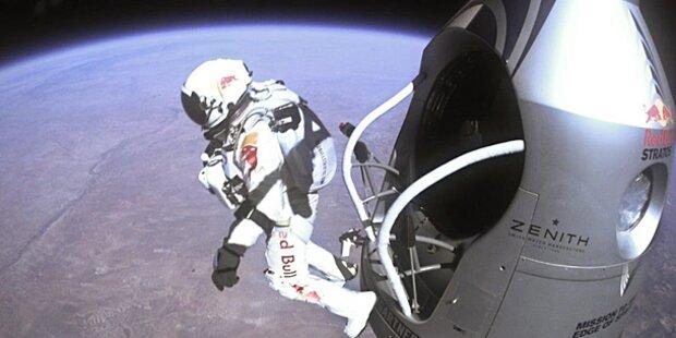 Felix Baumgartner will zum Mond