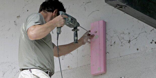 Baukosten legen in Österreich weiter zu