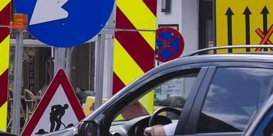Gleich drei Sperren auf Tangente kosten Autofahrer Nerven