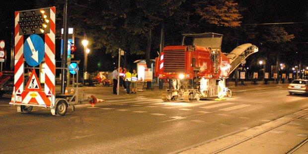 Ring-Sperre: Baustelle legt Innenstadt lahm