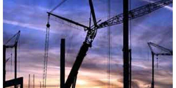 Wachstum der Bauwirtschaft verlangsamt sich