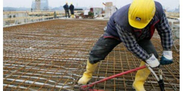 Bauwirtschaft kriegt Geld in Millionenhöhe
