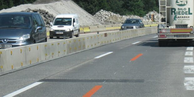 Baustellen ärgern Autofahrer am meisten