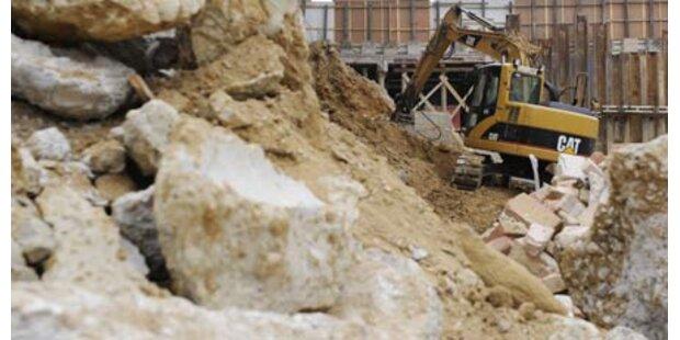 Bei Bauarbeiten lebendig begraben
