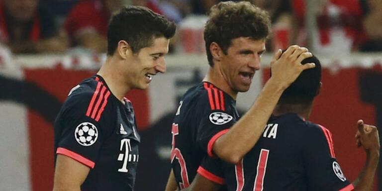 3:0! Toller Start für Bayern