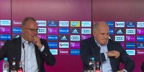 Wut-Auftritt: FC Bayern-Bosse attackieren Medien
