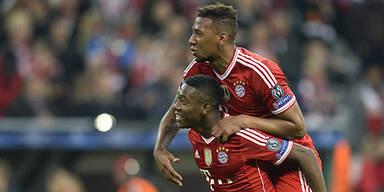 Bayern stürmen Richtung Titelverteidigung