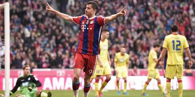 Bayern gewinnen klar gegen Hoffenheim