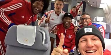 Alaba mit FC Bayern im Trainingslager