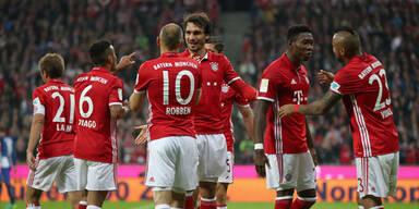 CL: Bayern gegen schwarze Spanien-Serie
