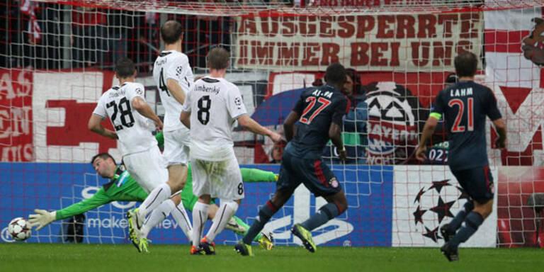 Bayern gewannen mit Alaba-Tor klar 5:0