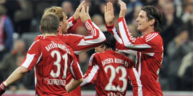 Bayern München kommt langsam in Fahrt
