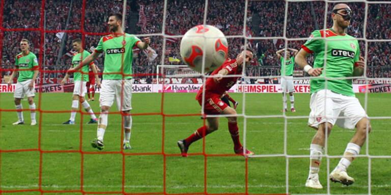 3:2 - Bayern drehen Spiel