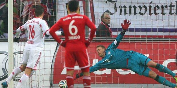Salzburger düpieren den FC Bayern mit 3:0