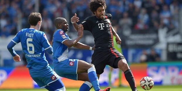 Bayern besiegen Hoffenheim mit 2:0