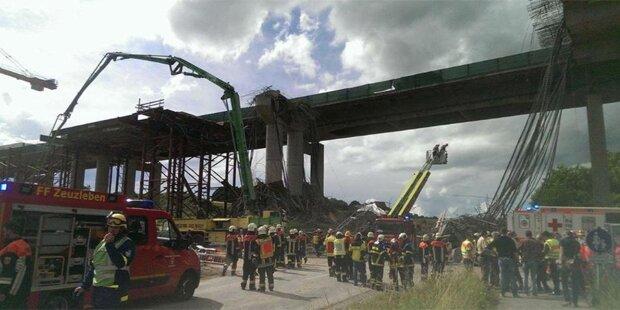 Autobahnbrücke eingestürzt: Mehrere Tote