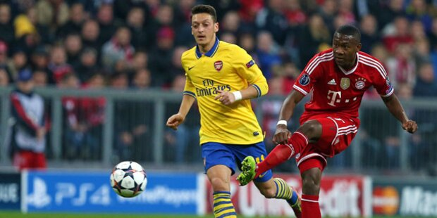 1:1 gegen Arsenal - Bayern im Viertelfinale