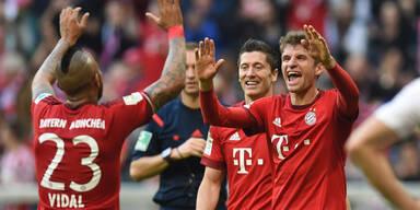 Super-Bayern fegen Stuttgart vom Platz