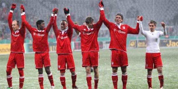 Schalke empfängt Bayern im Halbfinale